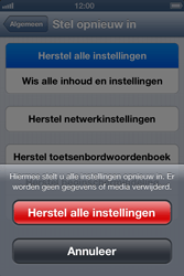 Apple iPhone 4 (iOS 6) - toestel resetten - fabrieksinstellingen terugzetten - stap 6