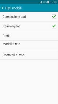 Samsung Galaxy Note 4 - Internet e roaming dati - Disattivazione del roaming dati - Fase 6