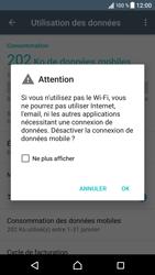 Sony Xperia XZ - Android Nougat - Internet - activer ou désactiver - Étape 6