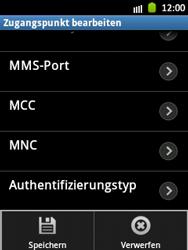 Samsung Galaxy Pocket - Internet und Datenroaming - Manuelle Konfiguration - Schritt 14
