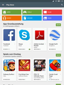 Samsung Galaxy Tab A 9.7 - Apps - Konto anlegen und einrichten - 17 / 18