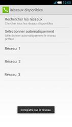 Alcatel One Touch Idol S - Réseau - Sélection manuelle du réseau - Étape 13