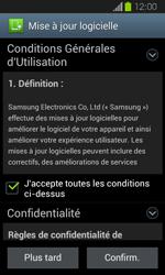 Samsung Galaxy Express - Logiciels - Installation de mises à jour - Étape 10