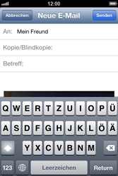 Apple iPhone 4 S - E-Mail - E-Mail versenden - 9 / 13