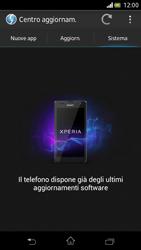 Sony Xperia V - Software - Installazione degli aggiornamenti software - Fase 8
