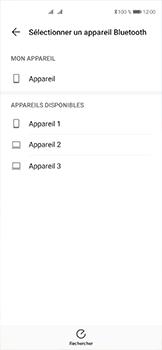 Huawei P40 - Photos, vidéos, musique - Envoyer une photo via Bluetooth - Étape 11