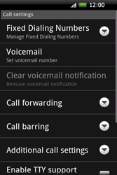 HTC A6262 Hero - Voicemail - Manual configuration - Step 5