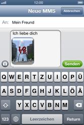 Apple iPhone 4S - MMS - Erstellen und senden - Schritt 14