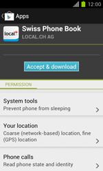 Samsung Galaxy S II - Applications - Installing applications - Step 8