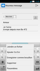 Bouygues Telecom Ultym 4 - E-mails - Envoyer un e-mail - Étape 11