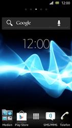 Sony Xperia U - Gerät - Zurücksetzen auf die Werkseinstellungen - Schritt 1