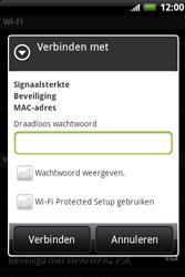 HTC A510e Wildfire S - Wifi - handmatig instellen - Stap 8