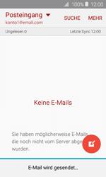 Samsung J120 Galaxy J1 (2016) - E-Mail - E-Mail versenden - Schritt 19