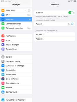 Apple iPad Mini 4 - ipados 13 - Bluetooth - Jumelage d