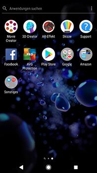 Sony Xperia XZ2 Premium - Apps - Konto anlegen und einrichten - Schritt 3