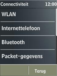 Nokia X3-02 - bluetooth - aanzetten - stap 5
