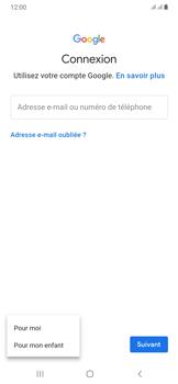 Samsung Galaxy A50 - Applications - Créer un compte - Étape 6