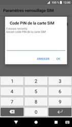 Sony Xperia XZ1 - Sécuriser votre mobile - Personnaliser le code PIN de votre carte SIM - Étape 7