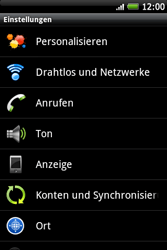 HTC Wildfire S - WLAN - Manuelle Konfiguration - 2 / 2