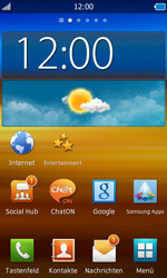 Samsung S8500 Wave - Internet - Automatische Konfiguration - Schritt 5