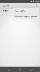 Sony Xperia Z1 - Internet e roaming dati - Configurazione manuale - Fase 10