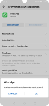 Huawei P30 Pro - Applications - Supprimer une application - Étape 7