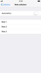 Apple iPhone 7 - iOS 12 - Rete - Selezione manuale della rete - Fase 6