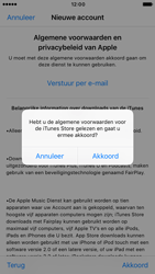 Apple iPhone 6s (iOS 10) - apps - account instellen - stap 11