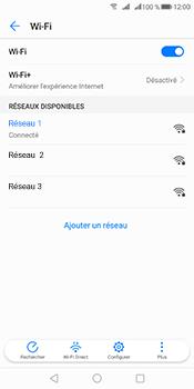 Huawei Mate 10 Pro - Internet et connexion - Accéder au réseau Wi-Fi - Étape 8
