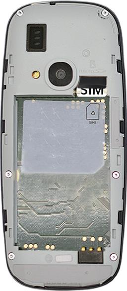 Nokia 3310 - SIM-Karte - Einlegen - 2 / 2