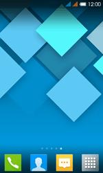 Alcatel One Touch Pop C3 - Startanleitung - installieren von Widgets und Apps auf der Startseite - Schritt 8