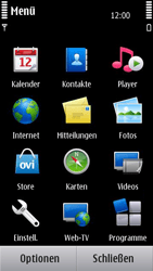 Nokia N8-00 - SMS - Manuelle Konfiguration - Schritt 3