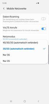 Samsung Galaxy S10 - Netzwerk - So aktivieren Sie eine 4G-Verbindung - Schritt 7