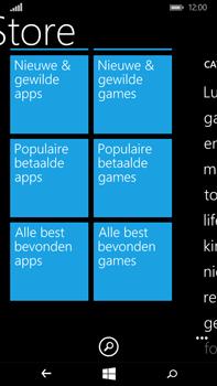 Microsoft Lumia 640 XL - Applicaties - Downloaden - Stap 9