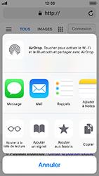 Apple iPhone 5s - iOS 12 - Internet - Navigation sur Internet - Étape 16