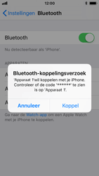 Apple iPhone SE - iOS 11 - Bluetooth - koppelen met ander apparaat - Stap 8