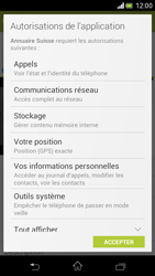 Sony Xperia V - Applications - Installation d