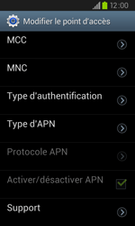Samsung I9105P Galaxy S II Plus - Internet - configuration manuelle - Étape 14