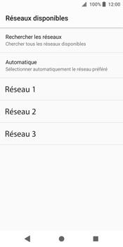 Sony Xperia XZ2 - Réseau - Sélection manuelle du réseau - Étape 9
