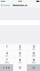 Apple iPhone 5c - Anrufe - Rufumleitungen setzen und löschen - Schritt 6