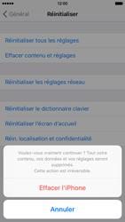 Apple iPhone 6 iOS 9 - Téléphone mobile - Réinitialisation de la configuration d