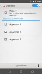 Sony Xperia M2 - bluetooth - headset, carkit verbinding - stap 6
