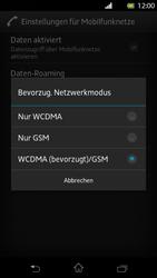 Sony Xperia T - Netzwerk - Netzwerkeinstellungen ändern - 7 / 7