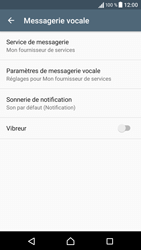 Sony Sony Xperia XA (F3111) - Messagerie vocale - Configuration manuelle - Étape 6