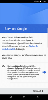 Samsung Galaxy S8 Plus - E-mail - 032a. Email wizard - Gmail - Étape 14