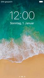 Apple iPhone SE - iOS 11 - Gerät - Einen Soft-Reset durchführen - Schritt 4