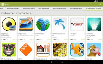 Sony Xperia Tablet Z2 4G (SGP521) - Applicaties - Downloaden - Stap 12