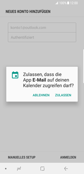 Samsung Galaxy S8 - E-Mail - Konto einrichten (outlook) - 11 / 14
