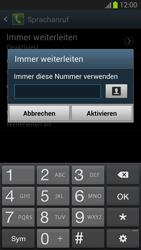 Samsung I9300 Galaxy S3 - Anrufe - Rufumleitungen setzen und löschen - Schritt 9
