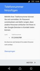 Sony E5603 Xperia M5 - Apps - Konto anlegen und einrichten - Schritt 14